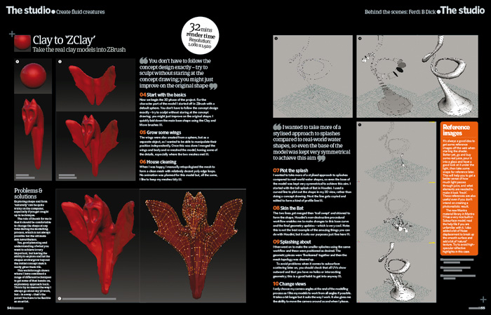 3d artist magazine page1-2: by Disko Ferdi Dick