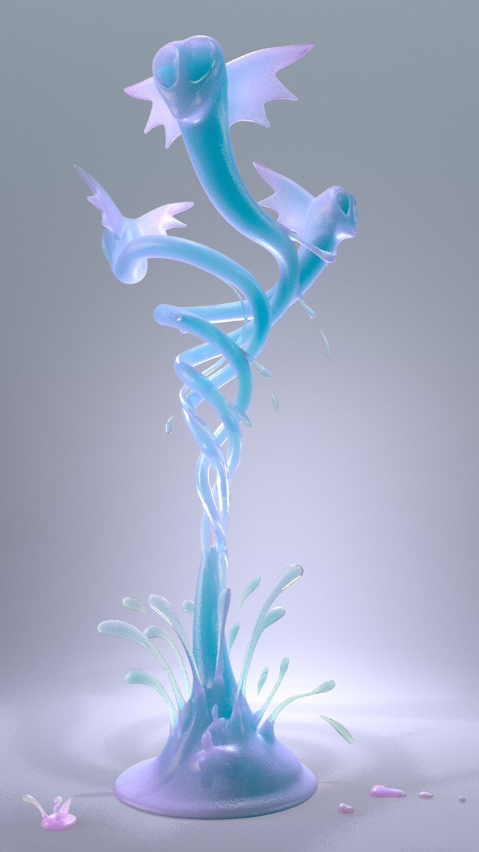 3D Fluid Animation  : by Disko Ferdi Dick