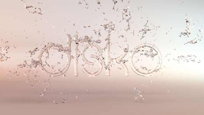 Garden water-boy Logo 3D Fluid Animation  : by Disko Ferdi Dick