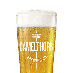 Camelthorn Namibian Craft Beer glass