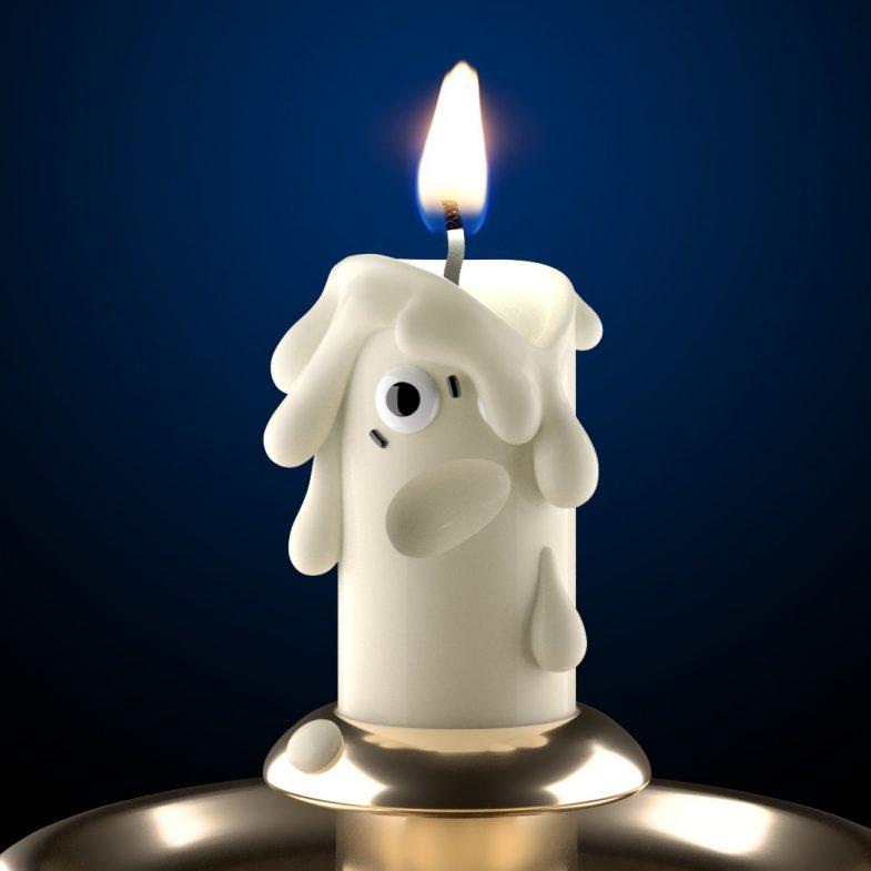 half life candle disko ferdi dick
