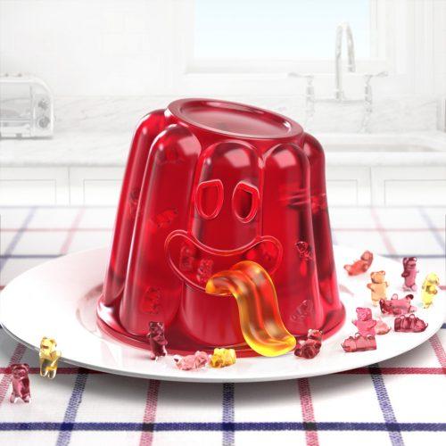 jelly pudding monster disko ferdi dick