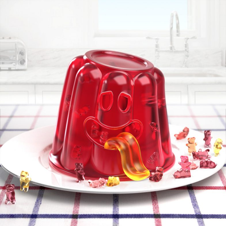 jelly pudding monster disko ferdi dick