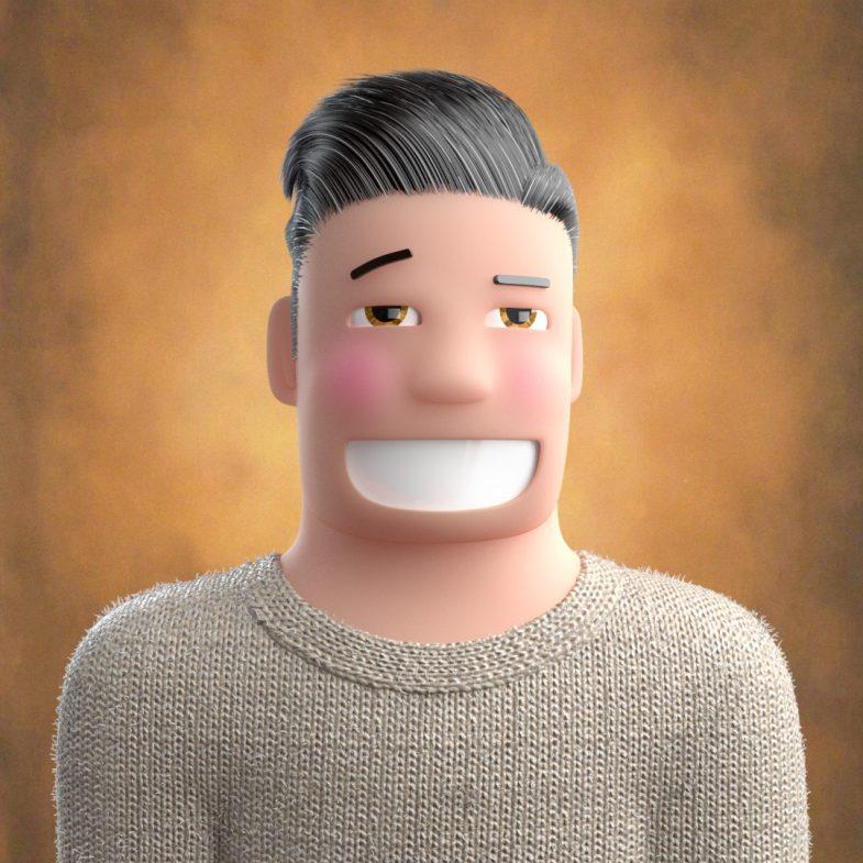 Profile pic Portrait of a friendly face.